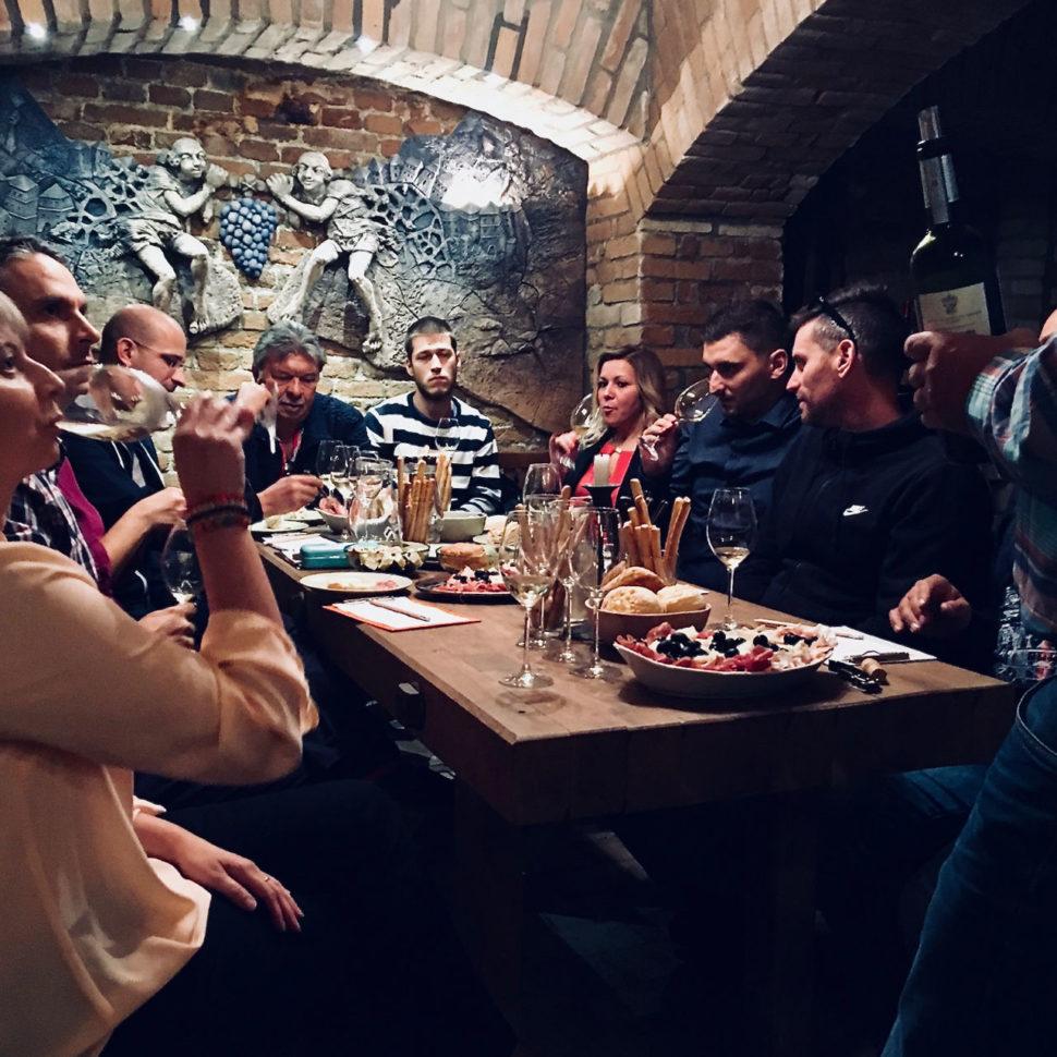 Kvalitné talianske vína - riadená ochutnávka pre f. Stavshop