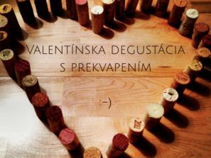 Valentinska degustacia vina